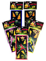 Rand Mighty Morphin Power Rangers 80 Piece Super Delux Decal Pack