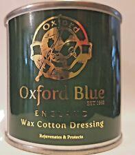 Wax Oxford Blue Cotton Dressing Jacket Waterproof 200 ml