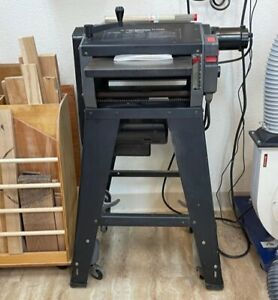 Shopsmith professional 12 inch planer with 1 3/4 hp motor for 5,750 rpm speed.