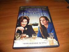 August: Osage County (DVD, Widescreen 2014) Meryl Streep, Julia Roberts Used