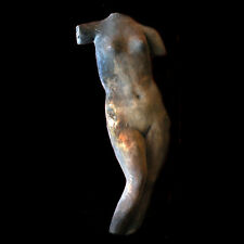 Nude Girl Female Wall Plaque Sculpture with hook on the back
