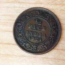 1924 India 1/2 Pice