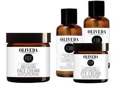 Oliveda F07 Gesichtscreme Anti Aging 50ml+ Augencreme 30ml+ Reinigungsgel 2x30ml