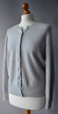 Ladies M&S Autograph Grey Cashmere Cardigan Size UK 14