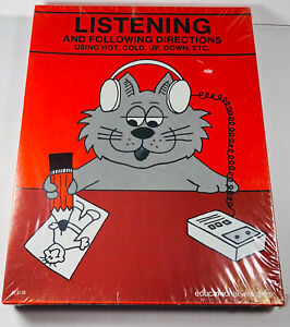 Educational Insights Listening & Following Directions Homeschool Hot Cold Up