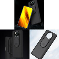 For NEW POCO X3 NFC 128GB Gaming Smart Phone PC Case Lens Cover Non-slip Skin