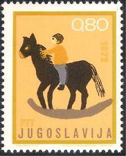 Yugoslavia 1972 Children's Week/Welfare/Horse/Art/Artists 1v (n21613)