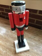 CB2 Crate and Barrel Modern Nutcracker Super Hero