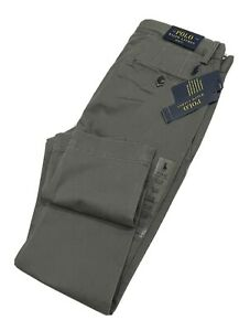 Ralph Lauren Men's Stretch Slim Fit Chino  (Grey)              RRP £134