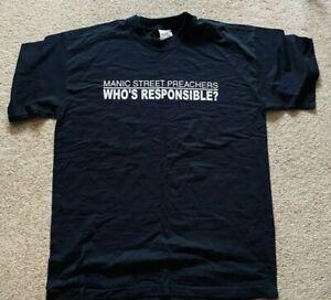 VINTAGE Manic Street Preachers Manic Millennium Tour T-Shirt (Size L) Unworn