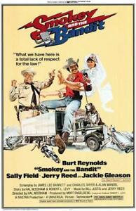 Smokey and the Bandit Movie POSTER 11 x 17 Burt Reynolds, Sally Field, A