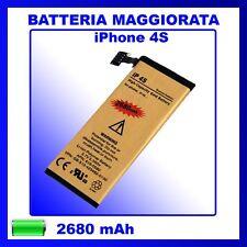 Batteria Maggiorata Gold Iphone 4S - ZERO CICLI