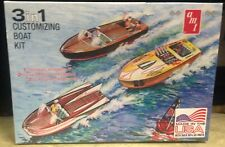 AMT 3 in 1 Customizing Boat Kit Vintage Reissue 1/25 Scale Plastic Model Kit