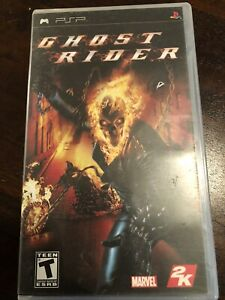 Ghost Rider Complete (Sony PSP 2007) With Manual CIB