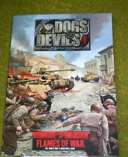 FLAMES OF WAR supplemento-Cani & DEVILS spaccata a Anzio 1944
