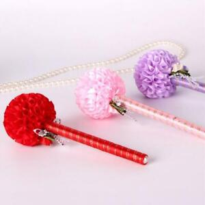 Flower Ball Shape Party Wedding Sign Pen 3pcs Guest Book Creative Gifts Decor