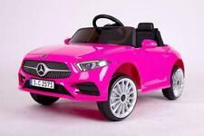 Kinder Elektro Auto Mercedes CLS350 Pink, EVA, Leder etc.! Neu & Ovp!!