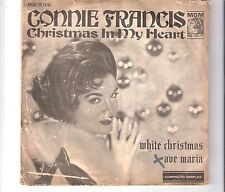 CONNIE FRANCIS - Christmas in my heart     ***Bra - Press***