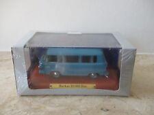Modell 1:43 ATLAS DDR Serie Barkas B1000 Bus in Blau mit OVP und Folie