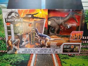 Jurassic World Lava Surge Playset Baryonyx Slime Figure Jurassic Park Mattel