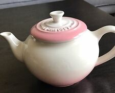 Super RARE New Le Creuset Teapot With Stoneware Infuser Powder Pink