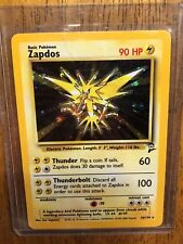 Pokemon 1999 Base Set Holo Zapdos 20/130 TCG Card Mint Condition!