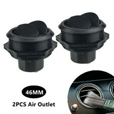 2X 46MM Vent Air Outlet Rotating Round Ceiling Universal For Car RV Bus ATV A/C