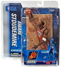 NBA Sports Picks Series 9 Amare Stoudemire Action Figure [Orange Jersey Variant]