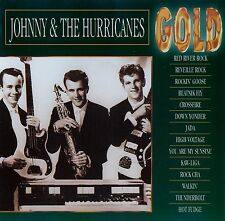 JOHNNY AND THE HURRICANES : GOLD / CD - TOP-ZUSTAND