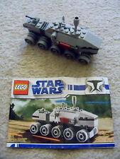 LEGO Star Wars Brickmaster - Super Rare Clone Turbo Tank 20006 w/ Instructions