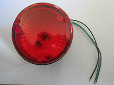 """Carriage RV Red Tail Light 70110R Camper Trailer 4 3/4"""" NOS"""