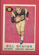 1959 TOPPS CFL FOOTBALL # 76 BILL GRAHAM