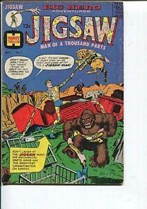 JIGSAW 1 FN ORIGIN 1st App JIGSAW CRANDALL ADAMS (ad) 1966