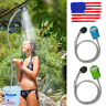 Portable Outdoor Portable Shower Head Camping Rechargeable Water Pump Travel