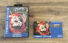 Sub Terrania -- Sega Mega Drive -- Box and Manual -- No Game!