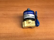 "12V DC 1/4"" Electric Solenoid Valve Water Air N/C Gas Water Air 2W025-08"