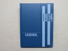 1964 MICHIGAN LUTHERAN SEMINARY YEARBOOK SAGINAW MI