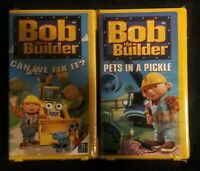 """Bob The Builder"" VHS (2). A Rare Promotional Screening Cassette. Brand New."