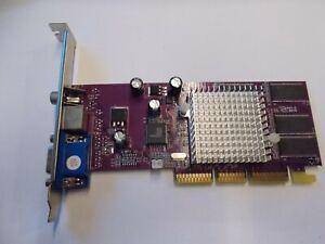 NVIDIA GeForce4 MX 440 AGP8X 8903, 64MB 64Bit Graphic Card VGA Tv-out, #SU203