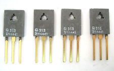Motorola 2N4441: 8-Amp, 50-Volt, Silicon Controlled Rectifier: NOS: 4/Lot