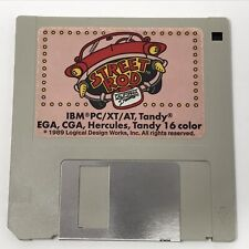 "Street Rod IBM PC/XT/AT Tandy Floppy Disk 3.5"" 3 1/2"" 1989 - Tested"