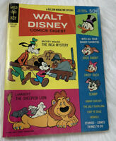 Walt Disney Comics Digest Gold Key August 1968 #3 Full Color Mickey Mouse Scamp