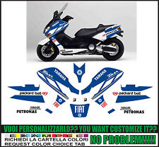 kit adesivi stickers compatibili tmax 2001 2007 moto gp m1 fiat