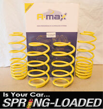 A-MAX Lowering Springs for Ford Fiesta Mk6 TDCI 2002-2008 JD, -35mm