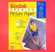"Sealed - Kodak Premium Picture Paper, Satin Finish, 50 Sheets, 8.5"" x 11"" Inkjet"