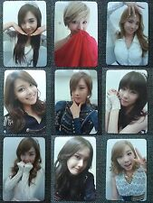 LOT of 9 SNSD Official PHOTOCARD 3rd Album MR. TAXI Girl's Generation Full Set