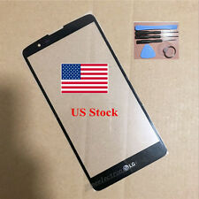 "for LG Stylo 2 Plus MS550 black Front Touch Screen Outer Glass Len 5.7""  + tools"
