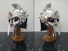 General Maximus Mini Gladiator Helmet & Wooden Stand. A Movie Decoration Piece