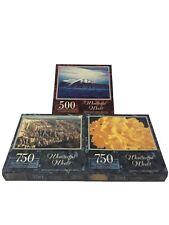 NEW SEALED Wonderful World Jigsaw Puzzle Lot Of 3