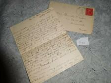 Historical Letter - Racist - Letter from Daughter to Father - 1908